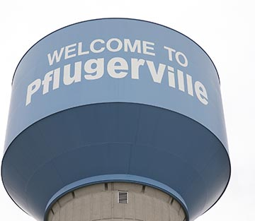Pflugerville water tower